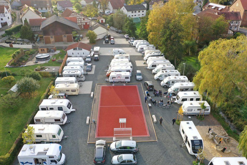 Überblick des Abcampens des DCC LV Hessen 2019